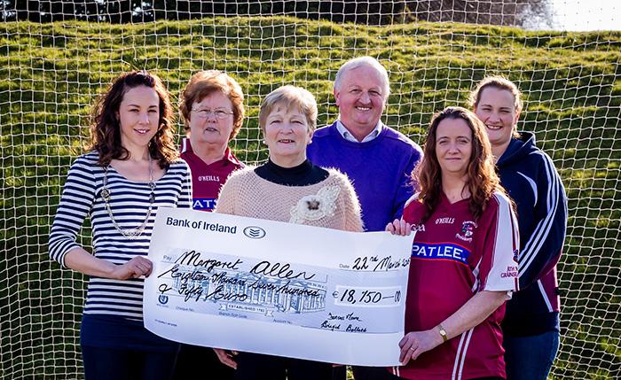 Margaret Allen winner of €18,750