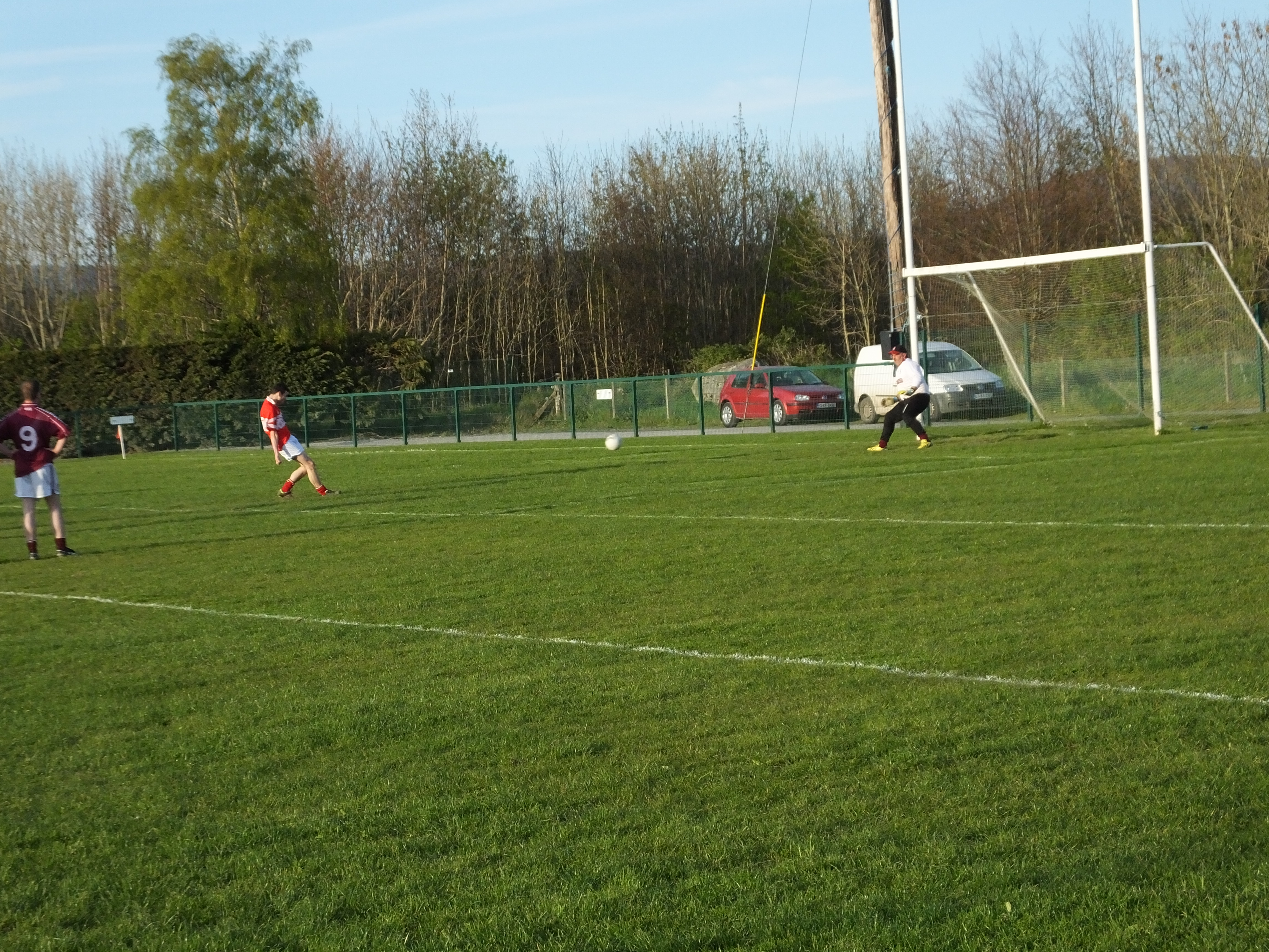 Penalty kick for Valleymount