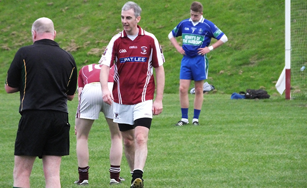 Dermot Phelan had a staring role in the draw against Arklow and knows his luck was in as with the last kick of the game, his free kick ricochets off both posts to level the game!