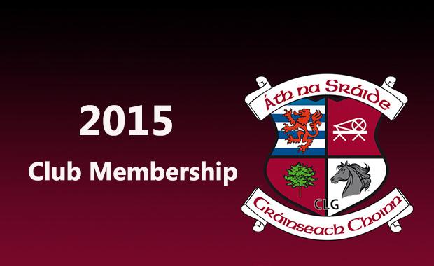 2015 Club Membership
