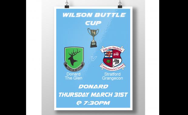 Wilson Buttle Cup v Donard